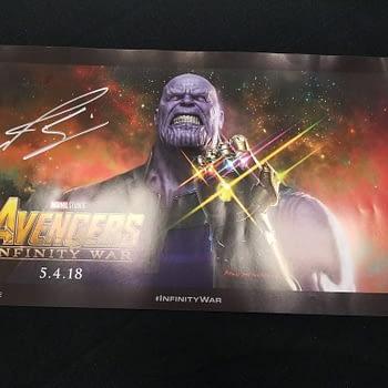 thanos Avengers Infinity War Poster D23
