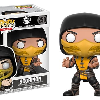 Funko Mortal Kombat Pop Scorpion