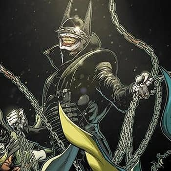 Batman Who Laughs #1 cover by Jason Fabok and Brad Anderson