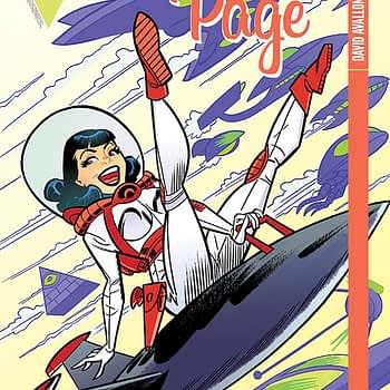 Bettie Page #5 Cover