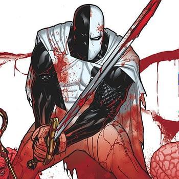 Deathstroke #25 cover by Ryan Sook