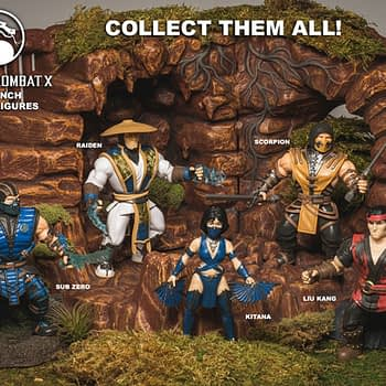 Mortal Kombat figures from Funko