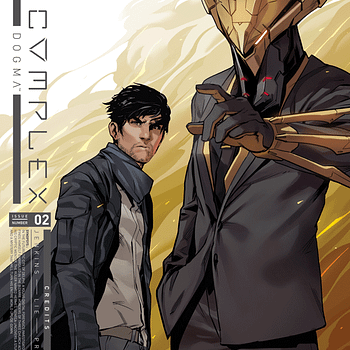 God Complex #2 cover by Hendry Prasetya