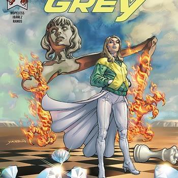 Jean Grey #9 cover by David Yardin