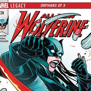 All-New Wolverine #28 cover by Elizabeth Torque and Nolan Woodard