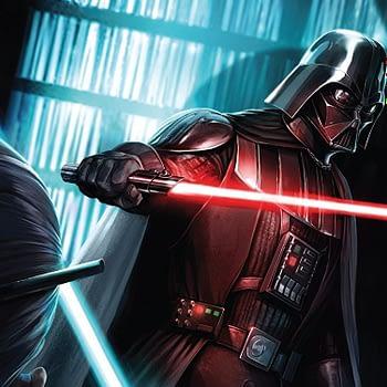 Darth Vader #9 cover by Giuseppe Camuncoli and Francesco Mattina