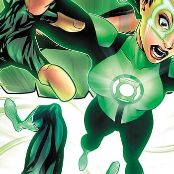 Green Lanterns #36 cover by Mike McKone and Dinei Ribeiro