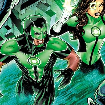Green Lanterns #37 cover by Mike McKone and Dinei Ribeiro