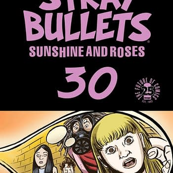 Stray Bullets #30 cover by David Lapham