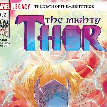 Thor #702 cover by Russel Dauterman and Matthew Wilson
