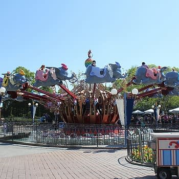 dumbo disneyland refurbishments