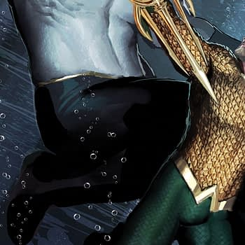 Aquaman #32 cover by Stjepan Sejic