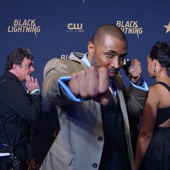 Cress Williams Black Lightning premiere