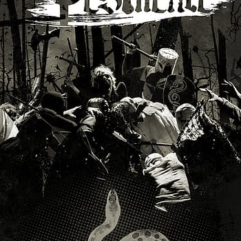 Pestilence #6 cover by Tim Bradstreet