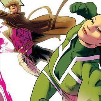 Rogue and Gambit #1 cover by Kris Anka
