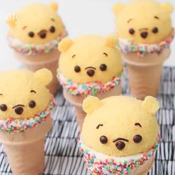 winnie the pooh cake snacks