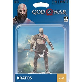 Totaku God of War Kratos Statue 1 gamestop