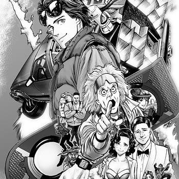 Back to the Future manga