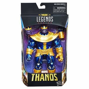 Marvel Legends Walmart Exclusive Thanos