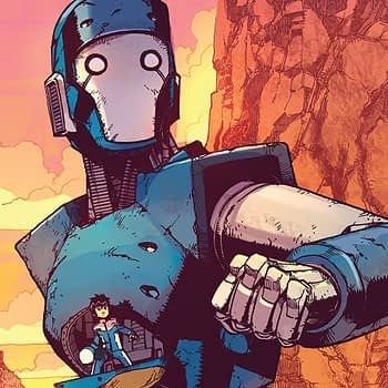 Mech Cadet Yu #6 cover by Takeshi Miyazawa and Raul Angulo