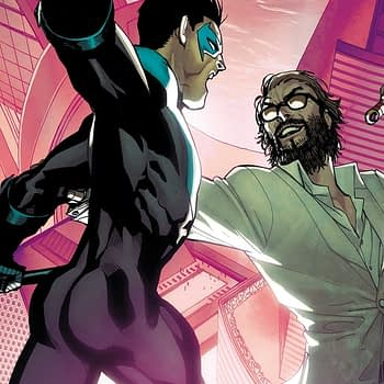 Nightwing #38 cover by Bernard Chang and Marcelo Maiolo