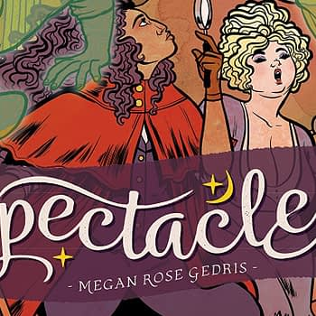 Spectacle #5 cover by Megan Rose Gedris