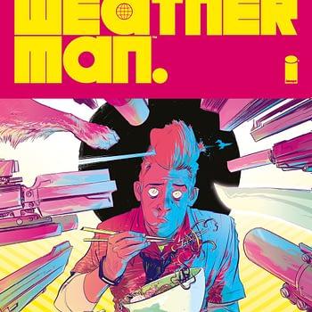 Weather Man image comics