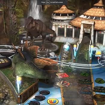 Pinball FX3 Jurassic Park