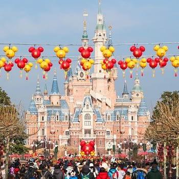 shanghai disneyland year of the dog