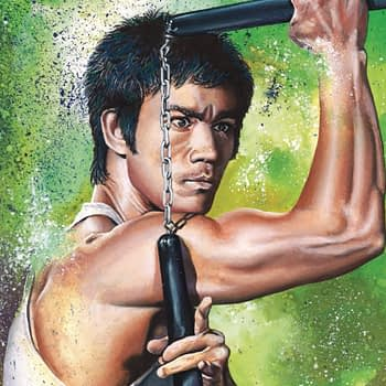 Bruce Lee: Walk of the Dragon One-Shot Cover