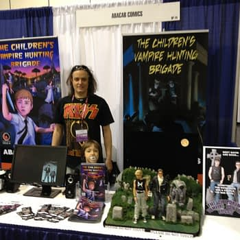 booth at wondercon 2018