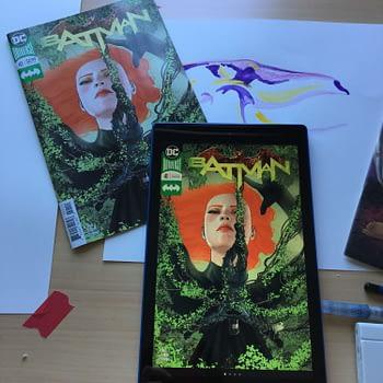 Kindle Fire 10 and Comic Comparison