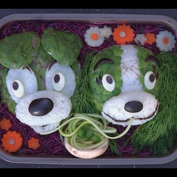 lady and the tramp bento box