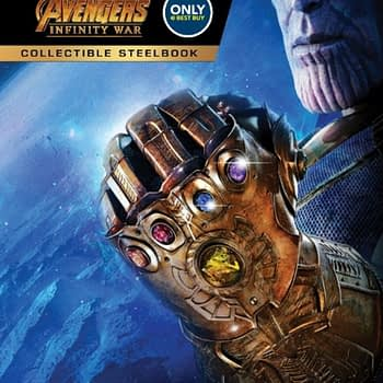 Avengers: Infinity War Best Buy Exclusive Steelbook