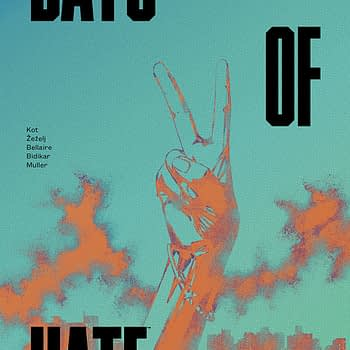 Days of Hate #4 cover by Danijel Zezelj