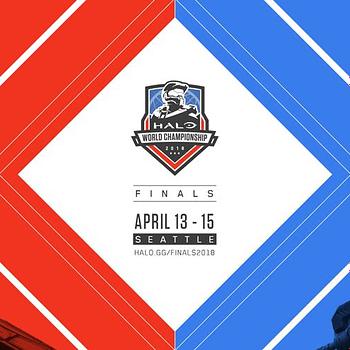 Halo World Championship finals banner