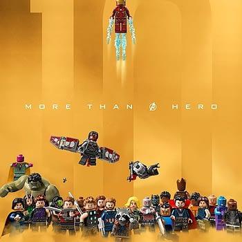 MCU LEGO Poster