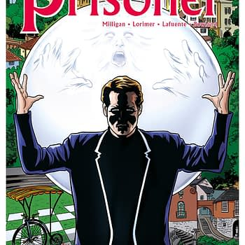 The Prisoner #1 cover by Mike and Laura Allred
