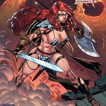 Erik Burnham Red Sonja #14