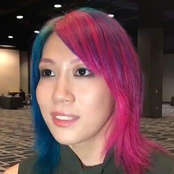 asuka interview before wrestlemania 34