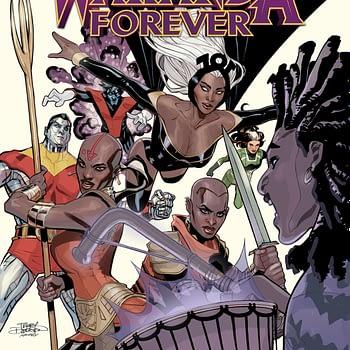 X-Men: Wakanda Forever from Nnedi Okorafor cover