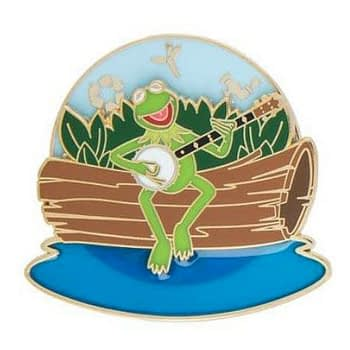kermit the frog trading pin