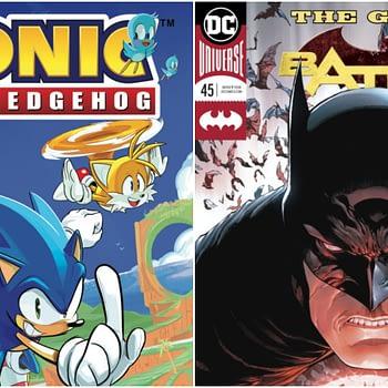 batman #45 and sonic the hedgehog #1