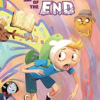 Adventure Time: The Beginning of the End #1 cover by Victoria Maderna