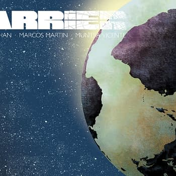 Barrier #5 cover by Marcos Martin and Muntsa Vicente