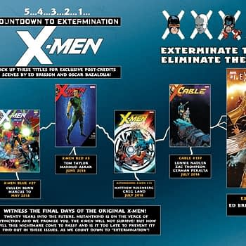 The X-Men Fast-Forward 20 Years as Extermination Backups Hit the X-Titles