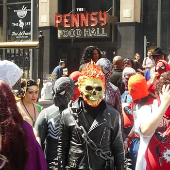 big apple comic con cosplay ghost rider