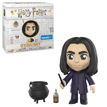 Funko 5 Star Harry Potter Walmart Snape