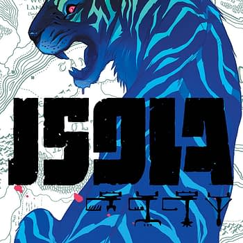 Isola #2 cover by Karl Kerschl