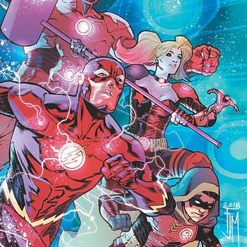 Justice League: No Justice #4 cover by Francis Manapul
